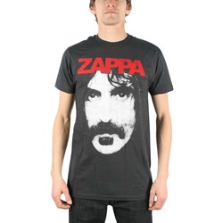 Frank Zappa - Zappa Mens T-Shirt In Coal