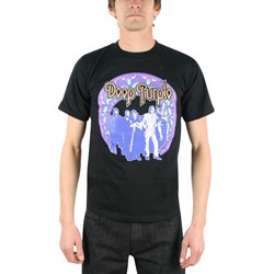 Deep Purple - Band Photo Adult T-Shirt In Black