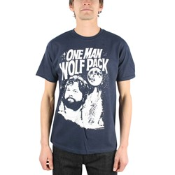 The Hangover - One Man Wolfpack Adult T-shirt in Navy