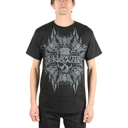 Killswitch Engage - Death Star Adult T-Shirt In Black