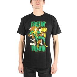 Loki Chillin' Like A Villain Mens T-Shirt In Black