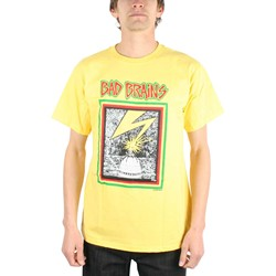 Bad Brains Capitol Yellow Adult T-Shirt