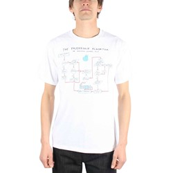 Big Bang Theory - Friendship Algorithm  Adult T-shirt in White