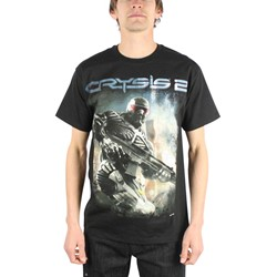 Crysis 2 - Action Mens T-Shirt in Black