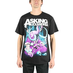 Asking Alexandria - Devour Mens T-Shirt in Black