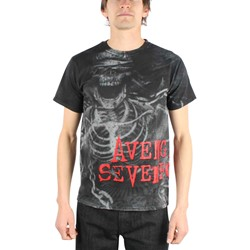 Avenged Sevenfold - Chain All Over Mens T-Shirt In Black