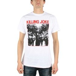 Killing Joke - Pope Mens T-Shirt In White
