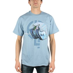 ELP - Mens Emerson, Lake & Palmer Tarkus T-shirt in Lt Blue