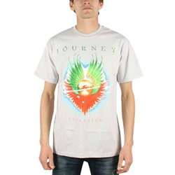 Journey - Evolution Mens T-Shirt In Silver