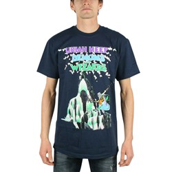 Uriah Heep - Mens Demons and Wizards T-shirt in Navy