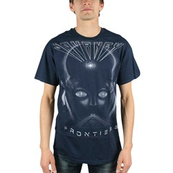 Journey - Frontiers Mens T-Shirt In Navy