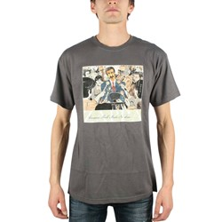 Frank Zappa - Congress Mens T-Shirt In Charcoal