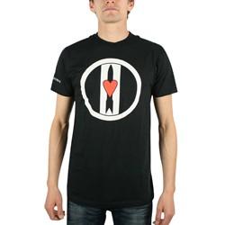 Love & Rockets - Logo Discharge Mens T-Shirt In Black