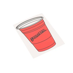 Booger Kids - Party Cup Sticker