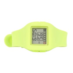 Impress Digital Silicon Band Watch in Lime