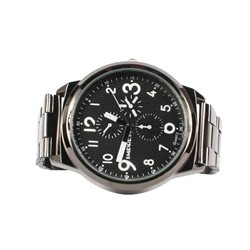 Impress Metal Chrono Analog Watch in Gunmetal