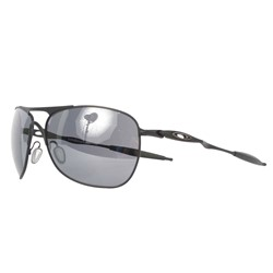Oakley - Mens Crosshair Matte Black w/Black Iridium Sunglasses