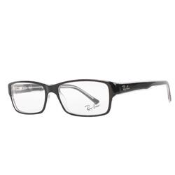 Ray-Ban - Mens Acetate Optical Frames in Black/Crystal