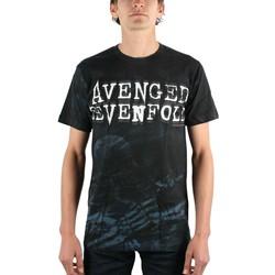 Avenged Sevenfold - Skeleton Mist Allover Mens T-Shirt In Black