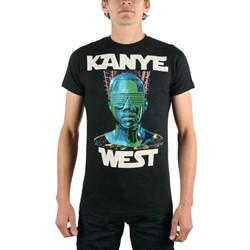 Kanye West - Robot Wars Mens T-Shirt In Black