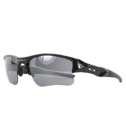 Oakley - Flak Jacket XLJ Jet Black w/Black Iridium Sunglasses