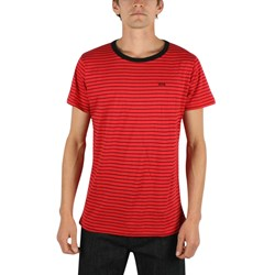 Kr3W - Mens Parr Crew T-Shirt In Red