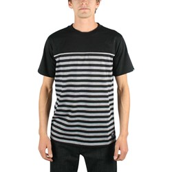 Rogue Status/DTA - Squad Mens Jersy T-shirt in Black/Chr Heather