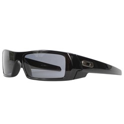 Oakley Gas Can Polished Black/Grey Sunglasses