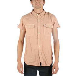 Obey - Sunbird (S/S)  Mens Woven Shirt in Melon