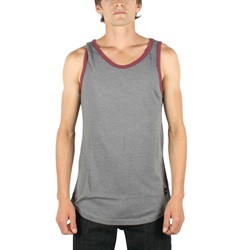 Fyasko - Mens Clean Tank Top in Heather Grey