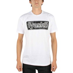 Fyasko - Mens Cambrella T-Shirt in White