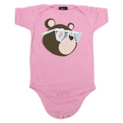 Kanye West - Infant Bear Onesie In Pink