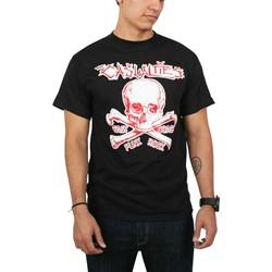Casualties - Mens Skull T-Shirt in Black