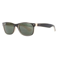 Ray-Ban - New Wayfarer Sunglasses in Top Black/Beige