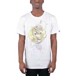Insight - Mens Smiley Dagger T-Shirt In Bone White