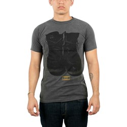 Civil - Built Tough Mens T-shirt in Dusty Black