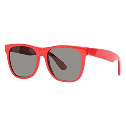 Super Sunglasses - Basic Wayfarer Sunglasses in Red