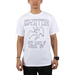 Led Zeppelin - Mens Icarus T-shirt in White