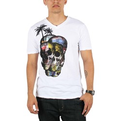 Drifter - Variegated Mens T-shirt in White