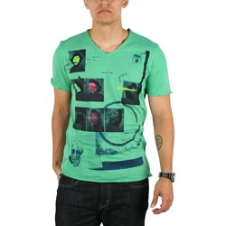 Drifter - Progression Mens T-shirt in Absinthe Green