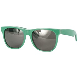 Super Sunglasses - Basic Wayfarer Sunglasses In Green