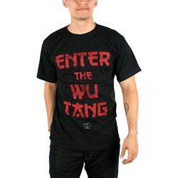 Wu-Tang Clan - Enter the WU T-Shirt in Black