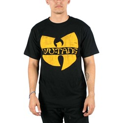 Wu-Tang Clan - Classic Yellow Logo T-Shirt in Black
