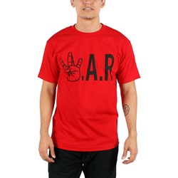 Ruthless - Mens W.A.R. T-shirt in Red