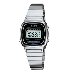 Casio -  Small Digital Watch in Silver