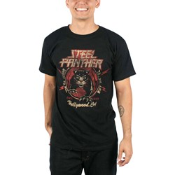 Steel Panther - Mens Death to All But Metal T-Shirt in Black