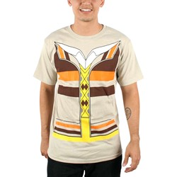 Big Bang Theory - Mens Raj Trompe T-shirt in Natural