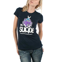 Blac Sheep - Suicide Bears Womens T-shirt in Navy