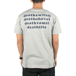 Insight - Mens Deathswitch T-shirt in Heather Grey