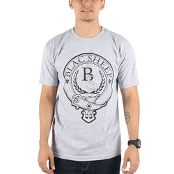 Blac Sheep - Belt T-shirt in Heather Grey